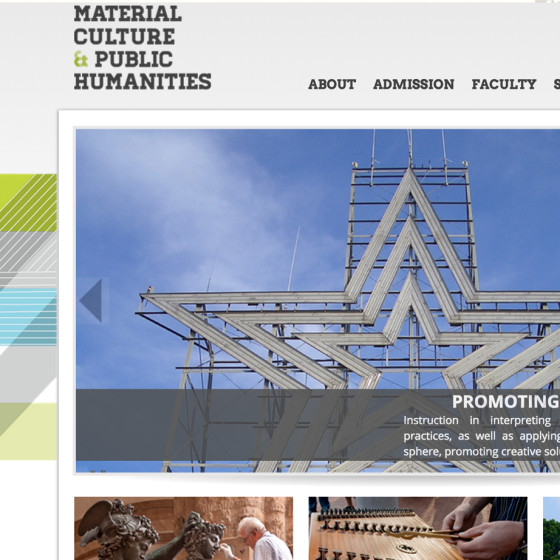Material Cultures and Public Humanities